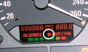 BMW e39 как сбросить oil services